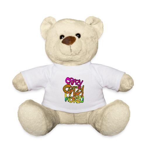 kleurige crazy crazy world - Teddy