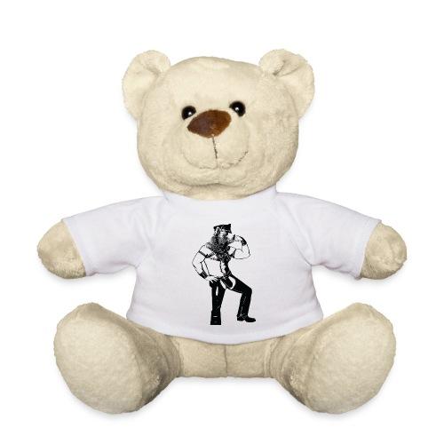 Grrr leather bear - Nounours