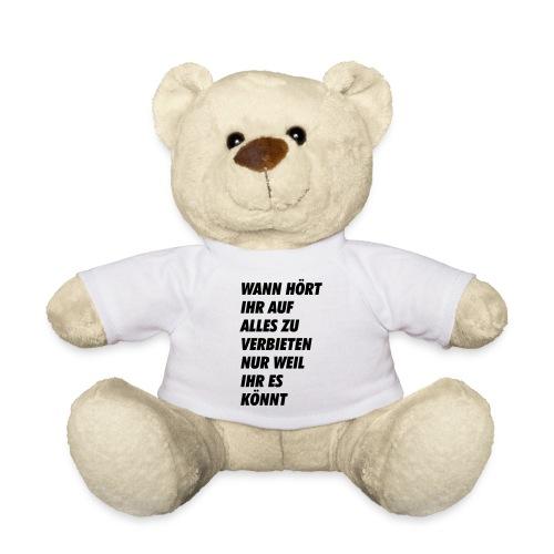 wanhoertihrauf - Teddy