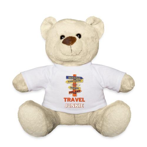 traveljunkie - i like to travel - Teddy
