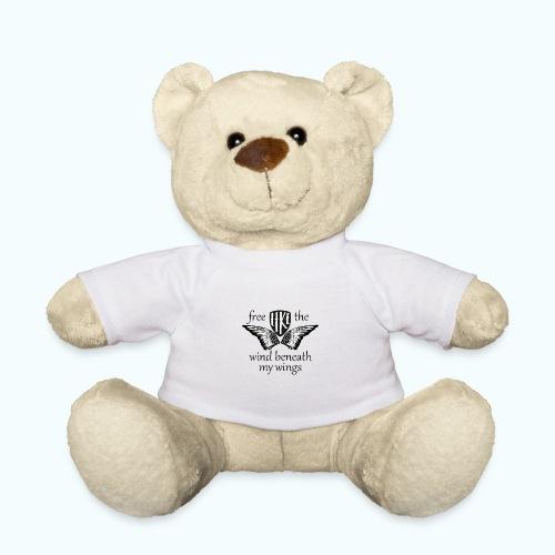 Free like the wind beneath my wings - Teddy Bear
