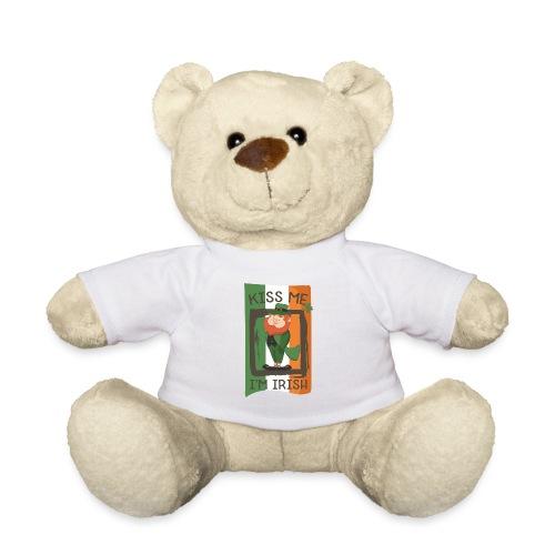 St. Patrick's Day Leprechaun - I'm Irish - Kiss Me - Teddy Bear