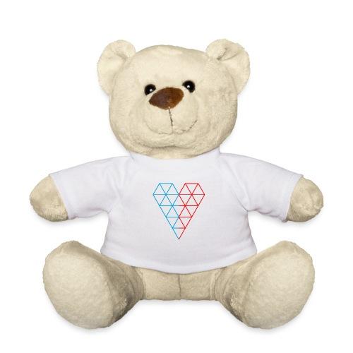 The Heart of Life x 1, Dual Polygon. - Teddy Bear