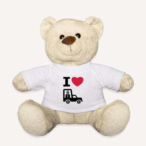 Papst im Auto - Teddy Bear