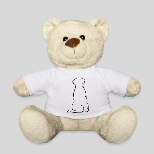 Labbi_sitzend_Back - Teddy