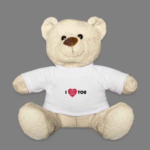 i love you - Teddy