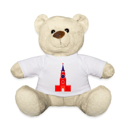 Kremlin by Julia Dudnik - Teddy Bear