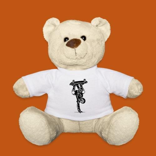 Skater / Skateboarder 02_schwarz - Teddy