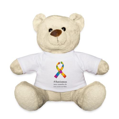 Inter-Mundos Autismus-Schleife - Teddy