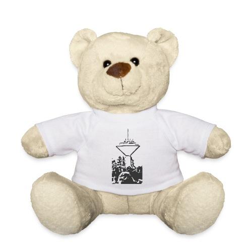 Wasserturm Rottweil schwarz - Teddy