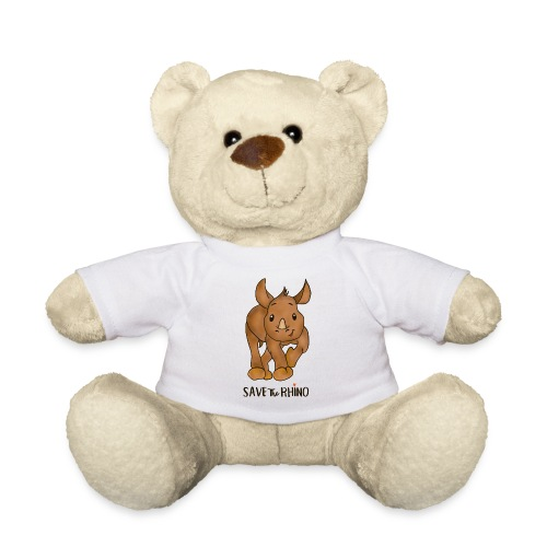 Save the Rhino - Teddy Bear