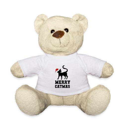 Merry Catmas - Silhouette - Teddy