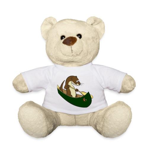 greencanoewithsticker - Teddy Bear