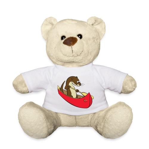 redcanoewithsticker - Teddy Bear