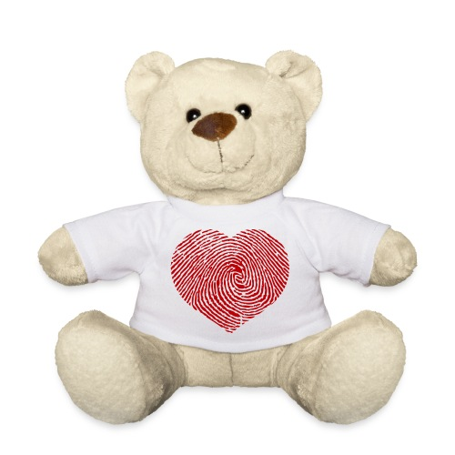 Finger Heart Red - Teddy