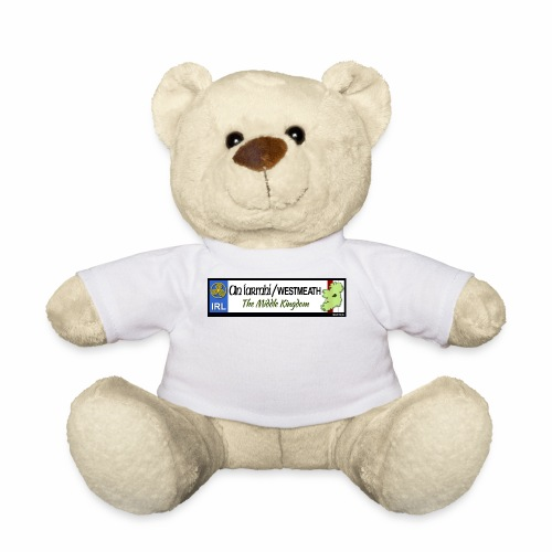 WESTMEATH, IRELAND: licence plate tag style decal - Teddy Bear