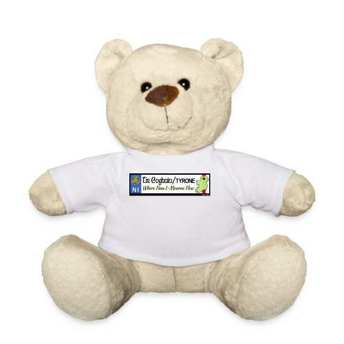 TYRONE, NORTHERN IRELAND licence plate tags decal - Teddy Bear