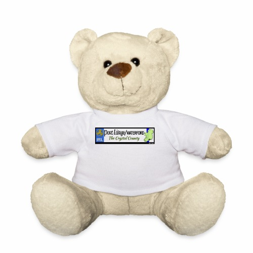 WATERFORD, IRELAND: licence plate tag style decal - Teddy Bear