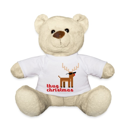 Rudolph the Red Nosed Reindeer Pixel - Teddy Bear