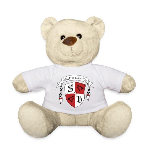 SD logo - sorte lænker - Teddybjørn