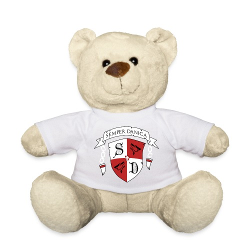 SD logo - hvide lænker - Teddybjørn