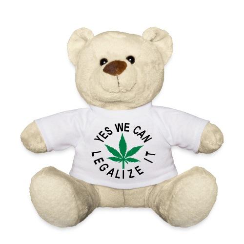 hanfblatt yes we can legalize it - Teddy