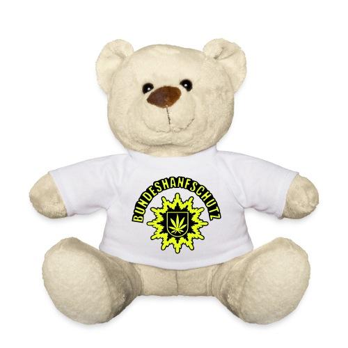 Bundeshanfschutz, simplifiziert, mit Schriftzug - Teddy
