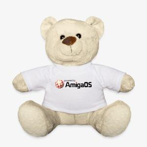 PoweredByAmigaOS Black - Teddy Bear