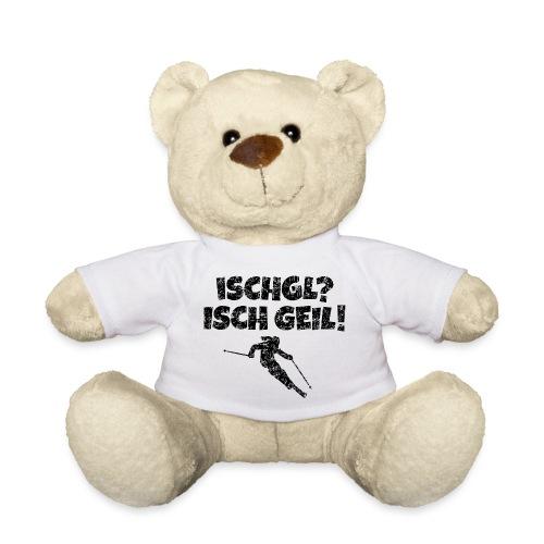 Ischgl Isch Geil Skifahrerin (Schwarz) Apres-Ski - Teddy