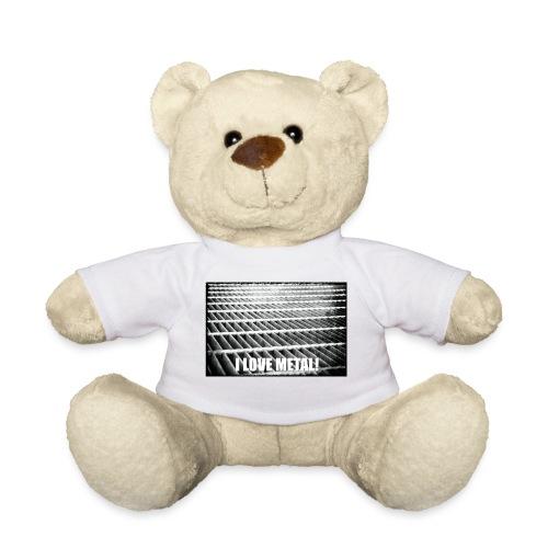 I Love Metal! - Teddy Bear