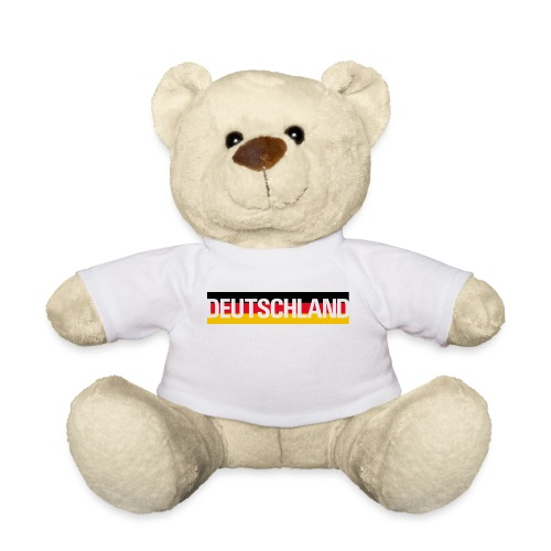Deutschland - Germany flag - Teddy Bear