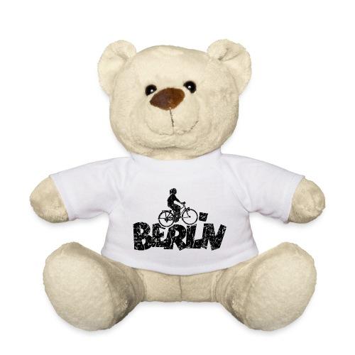 Berlin Fahrrad (Vintage/Schwarz) Fahrradfahrerin - Teddy