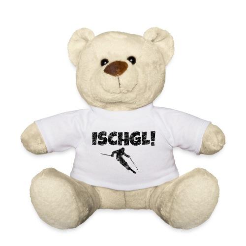 Ischgl Skifahrer (Schwarz) Apres-Ski Wintersport - Teddy