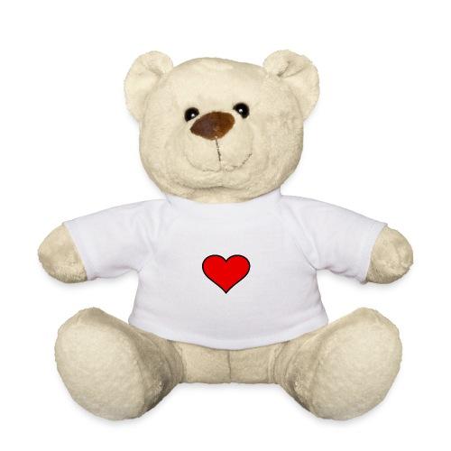 big heart clipart 3 - Nallebjörn