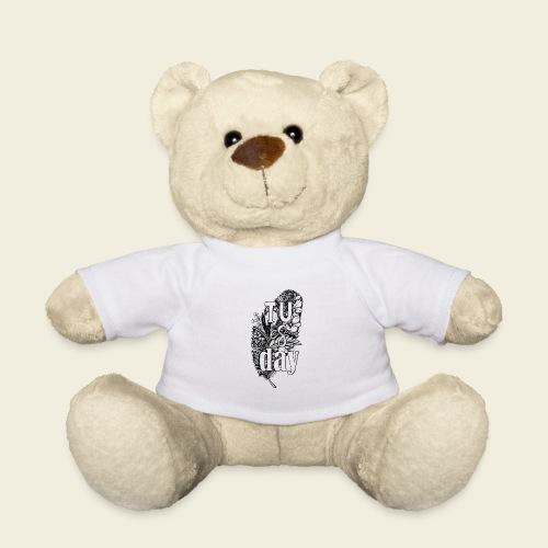 Tu-es-day - white - Teddy