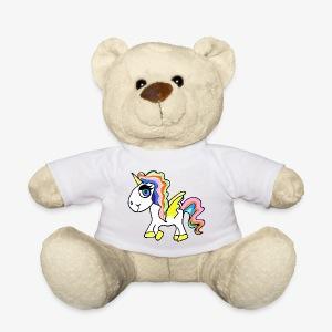 Buntes lässiges Einhorn - Teddy