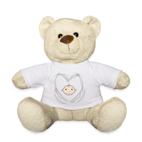 Heart and Baby head - Teddy