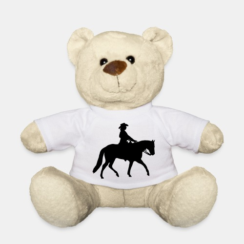 Ranch Riding Silhouette Westernreiterin - Teddy