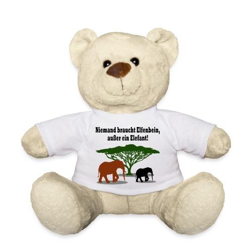 Niemand braucht Elfenbein, außer ein Elefant! - Teddy