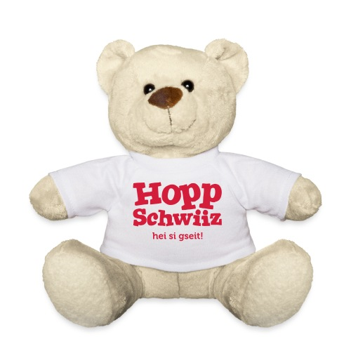 Hopp-Schwiiz hei si gseit - Teddy