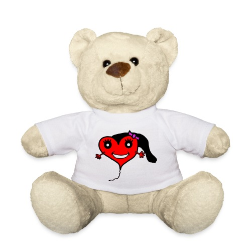 Herz Smiley Geburtstag - Teddy