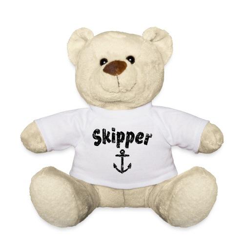 Skipper Anker (Vintage Schwarz) Boot & Segel - Teddy