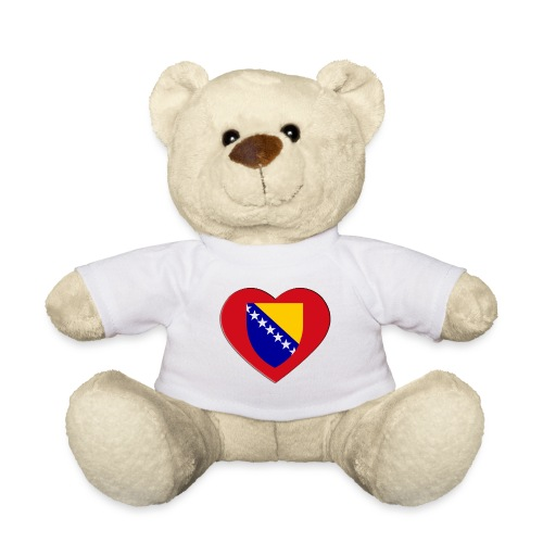 i love bih heart 3d - Teddy