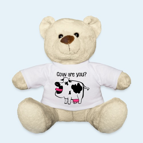 Cow are you? - Osito de peluche