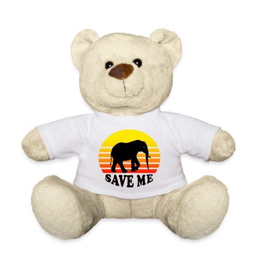 Elefant SAVE ME Schattenriss Sonne - Teddy