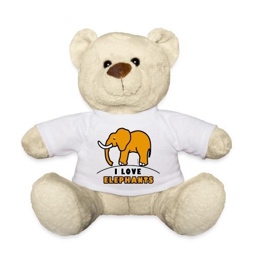 Elefant - I LOVE ELEPHANTS - Teddy