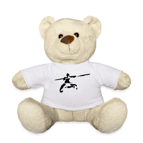 Kungfu stick fighter / ink - Teddy Bear