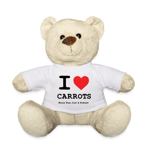 I LOVE CARROTSa png - Teddy Bear