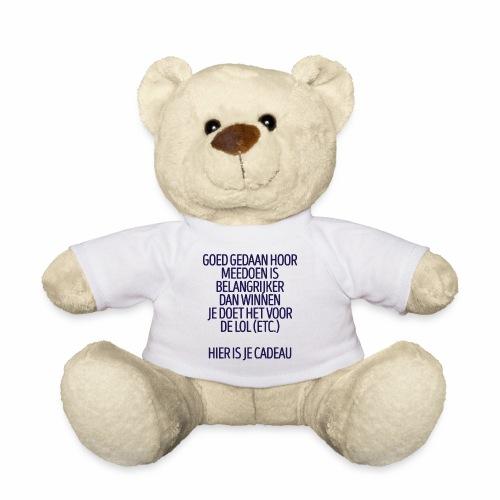 Meedoen is belangrijker dan winnen - fun gift - Teddy