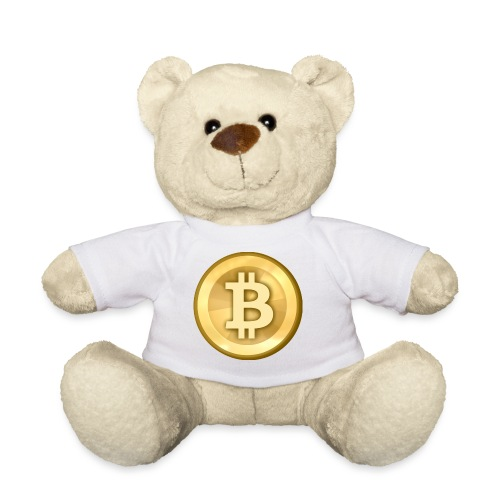 Bitcoin Gold Coin - Teddy Bear